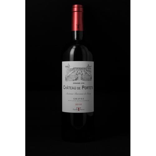 Château de PORTETS GRAND VIN Rouge 2016